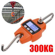 Mini Digital LCD Display Crane Scale 300KG/660LBS Industrial Hanging Weight Hook