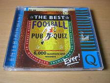 El mejor fútbol pub Quiz nunca (Pc Cd Rom)