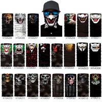 Multifunction Headwear Face Snood Tube Shield Balaclava Neck Gaiter UV Scarf New