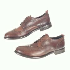MOMA Mens 11 (44) Shoes  Brown Derby Oxford Wingtip $420
