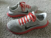 Men's Nike Free Run 3.0 Athletic Shoes Size 13M Multi-Color Synthetic