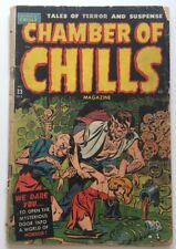 Chamber Of Chills #23(3) Harvey Publications Oct 1951 Excessive Violence