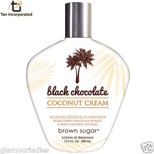 TanIncorporated Black Chocolate Coconut Tanning Sunbed Accelerator Lotion 400ml