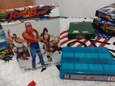 !!! SNK NEO GEO MVS REAL BOUT SPECIAL + CAJA DE CARTON ARTESANAL PLASTIFICADA !!