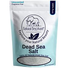Coarse Dead Sea Salt 5 lb (2.25 kg) by Natural Elephant