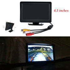 4.3 inch Screen Car-mounted Desktop TFT-LCD Display High-definition Camera kit