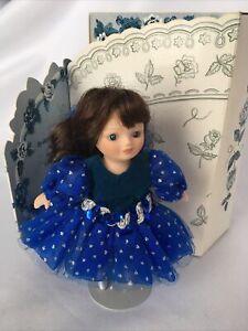 Marie Osmond Greeting Card Doll Knickerbocker Anniversary Blue Ltd Edition1996