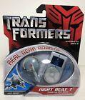 TRANSFORMERS MOVIE REAL GEAR ROBOTS NIGHT BEAT 7 Seeking the Beat NEW SEALED!