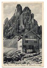 C004116    CIMA  DODICI   RIFUGIO   MUSSOLINI      VG  1938