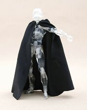 MY-C-BK: FIGLot 1/12 scale Black fabric cape for 6