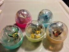 Pokemon Center Kitan Club Putitto Eevee Vol.2 Gashapon - Completed Set 5pcs