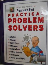 America's Best Practical Problem Solvers by Jerry Baker new hardcover book