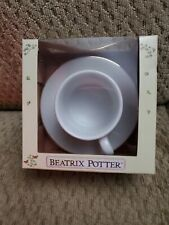 Beatrix potter original porcelain tea cup/saucer
