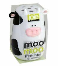 Joie Moo Moo Fresh Fridge Refrigerator Freezer Baking Soda Holder Odor Absorber