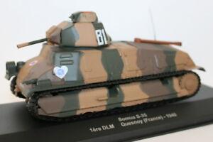 Altaya 1/43? Scale Diecast / Plastic - Somua S-35 1ere DLM Quesnoy France 1940