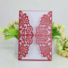 10pcs Butterfly Design Invitation Card For Wedding Business Party Birthday