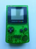 Refurbished Nintendo Clear Green Game Boy Color Console