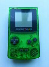 Reformado Nintendo Consola De Game Boy Color Verde Claro