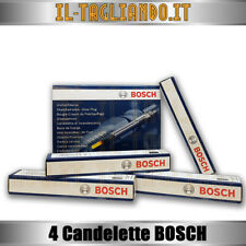 4 Candelette Alfa 147 JTD 1.9 e Alfa 156 1.9 JTD 115cv 74kw 85kw della BOSCH
