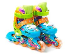 Titan Flower Power Girls  Blue and Green Inline Skates