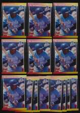 1989 Donruss Baseball NRMT lot of 14 #208 Bo Jackson KC Royals cards 45073