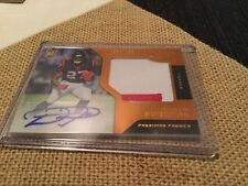 2017 Panini Certified D'onta Foreman Rookie Patch Autograph Orange 34/199