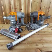 For Parts or Repair Dyson Cordless Vacuum Bundle Job Lot DC16 Read Description
