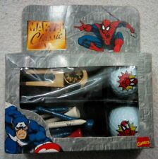 New listing Marvel Classic Spider-Man Golf Ball Gift Pack
