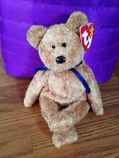 MWMT Ty Beanie Babies FUZZ Super Soft Caramel Bear 1998 Retired Plush Animal