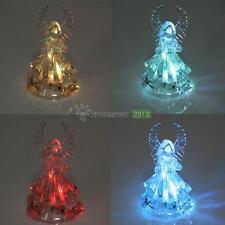 New Acrylic Praying Angel Color Changing LED Light Lamp Christmas Ornaments