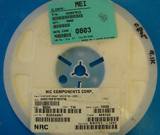 NIC Corp 0805 Resistor 9.1K Reel 1% NRC10F9101TR, 5000pcs