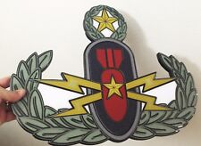 """EOD Master Plaque 19 x 15 inches  """"color"""""""