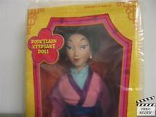 Mulan Porcelain Keepsake Doll, Disney's Mulan; Applause NEW SEALED