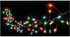 Festive Xmas Lights 80 Multi Function Multicoloured Cluster Micro Brights