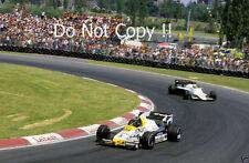 Jacques Laffite Williams FW09 Canadian Grand Prix 1984 Photograph 2