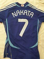 * NAKATA JAPON Home coupe du monde football shirt jersey soccer 2006 7 *