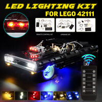 LED Light Lighting Kit For LEGO 42111 Technic Lighting Doms For Dodge Charger ❥