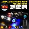 LED Light Lighting Kit For LEGO 42111 Technic Lighting Doms For Dodge Charger ❥