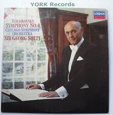 414 192-1 - TCHAIKOVSKY - Symphony No 4 SOLTI Chicago SO - Ex Con LP Record
