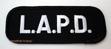 L.A.P.D. PATCH LOS ANGELES POLICE US NAVY MARINE AIR FORCE LAW ENFORCEMENT LAPD