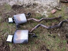 (2002-2003) BMW E53 X5 SPORT 4.6is  MUFFLER MUFFLERS EXHAUST EXHAUSTS (L+R)
