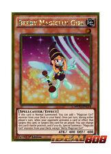 YUGIOH x 3 Berry Magician Girl - MVP1-ENG14 - Gold Rare - 1st Edition Near Mint