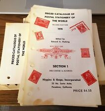 Higgins & Gage Priced Catalog of Postal Stationery of the World