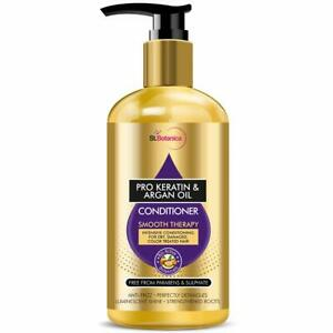 StBotanica Pro Keratin & Argan Oil Smooth Therapy Conditioner, 300ml -USA