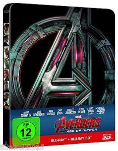 Avengers 2 - Age of Ultron [3D + 2D Steelbook Blu-ray Limited Edi.](NEU/OVP)