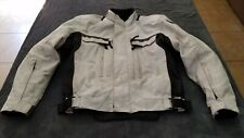 First Gear Motorcycle Jacket, Men's Size Medium, With Armor and Removable Lining