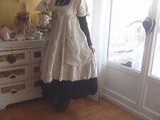 Superbe robe empire kleid Ewa i walla M dress new mariage pearl ivoire 40 42