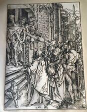 GRAVURE ECCE HOMO ALBRECHT DURER (1471-1528)TAILLE DOUCE