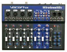 VocoPro WIRELESSMIX2 Karaoke Mixer With 2 UHF Mic SD