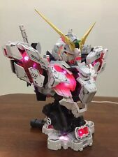 Unicorn Head Bust Plastic Model Kit Gundam 1/35 With LED NUOVO